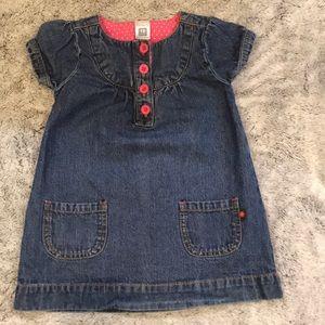 EUC!! 3/$12 🎈Carter's Denim Dress. So cute!!!!